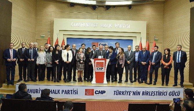 CHP Parti Meclisi Bildirisi