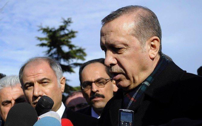 """Cumhurbaşkanı Erdoğan'dan Bildiriye İmza Atanlara Tepki: """"Bunlar Zalimdir Alçaktır"""""""