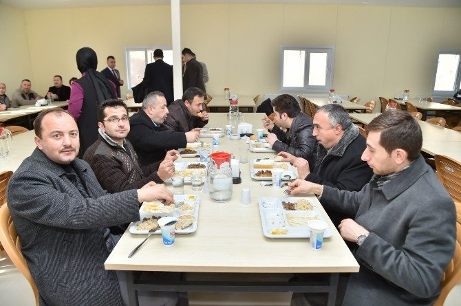 Belediye Dış Hizmetler Birimi, Yeni Yemekhanesine Kavuştu