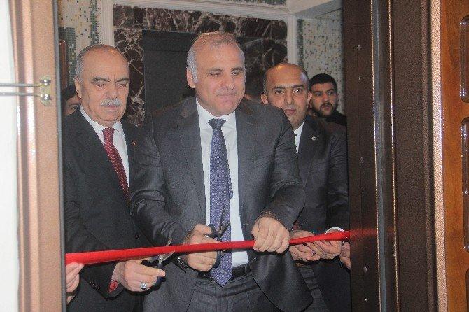 Tuhafiyeciler Ve Kalaycılar Odası'nın Yeni Hizmet Binasının Açılışı Yapıldı
