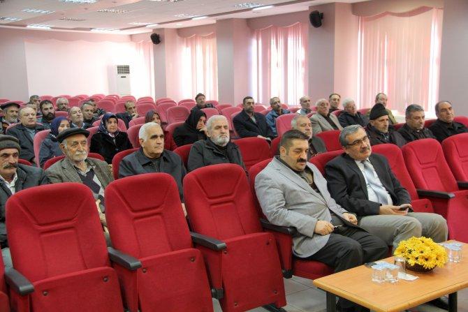 Vali Zorluoğlu tarihi Harput Mahallesi sakinleri ile biraraya geldi