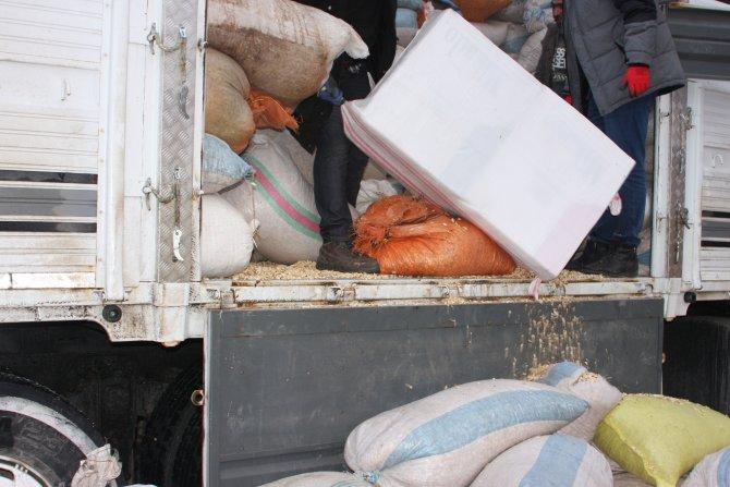 Elazığ'da 50 bin paket kaçak sigara ele geçirildi.