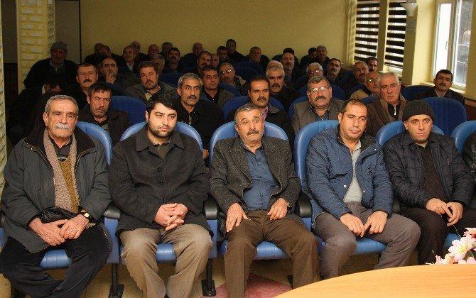 Elazığ'da Çiftçilere Bitki Koruma Eğitimi