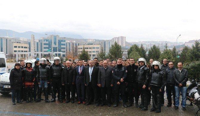 KBÜ'de Güvenlik Personeline Eğitim
