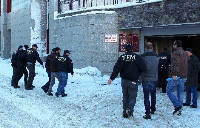 Erzurum'da Yakalanan 3 IŞİD Üyesi Adliyeye Sevk Edildi