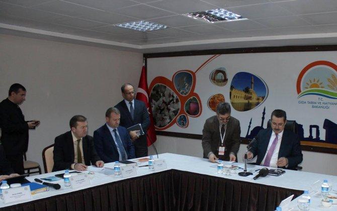 Gıda Tarım ve Hayvancılık Bakanlığı koordinasyon toplantısı yapıldı