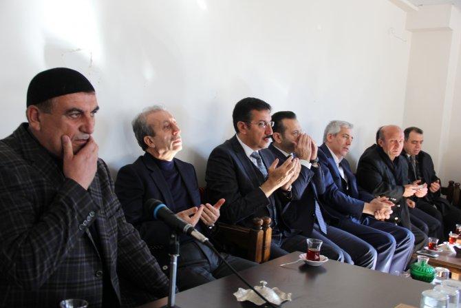 Bakan Tüfenkci, Çınar'daki patlamada hayatını kaybedenlerin taziyesine katıldı
