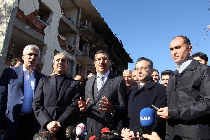 Bakan Tüfenkci: Çınar'daki patlama insanlığa karşı bir eylem olarak tarihe geçti