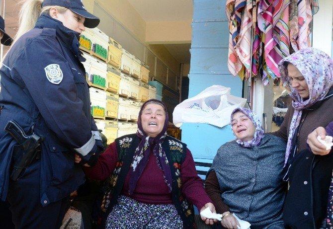 Hain Saldırıda Hayatını Kaybeden Polis Eşi Toprağa Verildi
