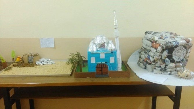 Hisarcık Anadolu İmam Hatip Lisesi'nde 'Peygamberler Tarihi Sokağı'