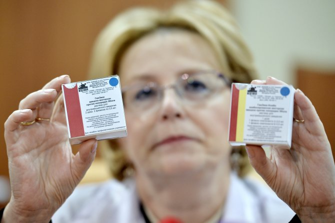 Rusya, Ebola ilacını resmen tanıttı