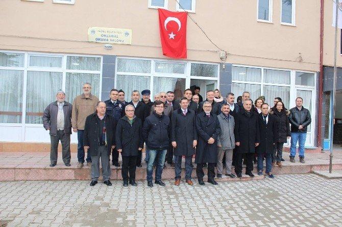 İnönü Belediyesi Oklubal Okuma Salonu Hizmete Açıldı