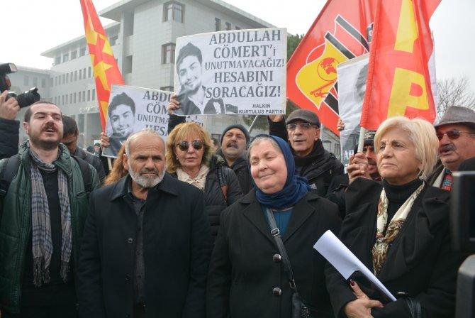 Anne Hatice Cömert: Biz adalet istiyoruz ama adalet yok