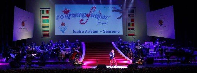 """Türk Çocukları """"San Remo Çocuk Şarkı Yarışması"""" Nda"""