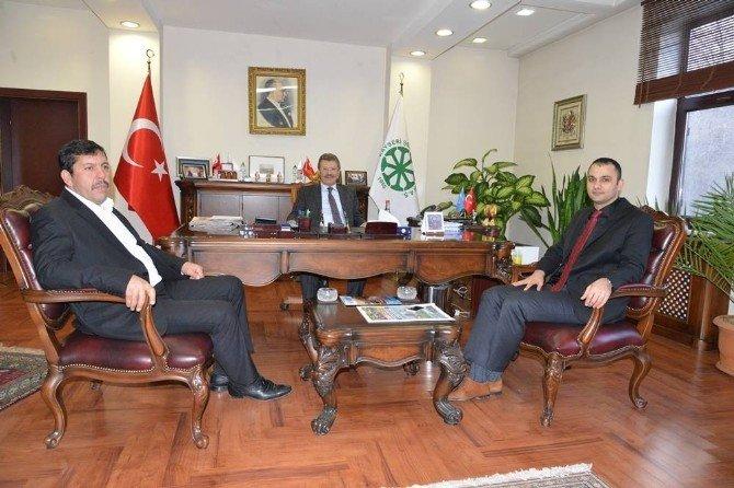Kaymakam Ve Belediye Başkanlarından Kayseri Şeker'e İade-i Ziyaret