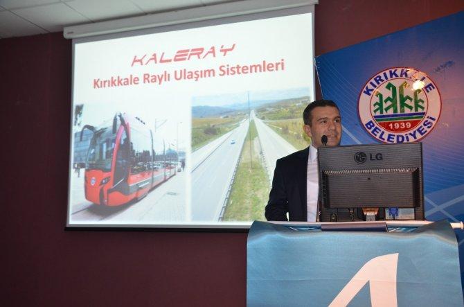 Kırıkkale'ye raylı ulaşım sistemi kurulacak