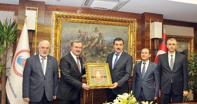 KSO'dan Bakan Tüfenkci'ye Ziyaret