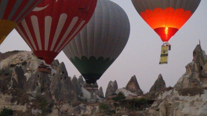 Huawei, Kapadokya'da reklam filmi çekti