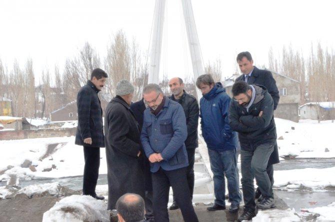 Kupkıran Mahallesi köprüsü yüzde 90 tamamlandı