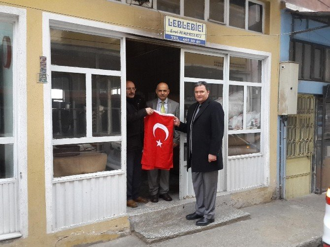 Büyükşehir Zabıta'dan Demirci Ziyareti