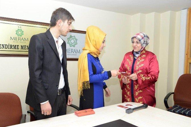 Meram'da 2015 Yılında 2 Bin 595 Nikah Kıyıldı