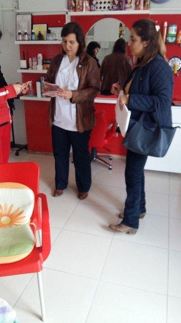 Tarsus Belediyesi, Bulaşıcı Hastalıklara Karşı Esnafı Bilgilendiriyor