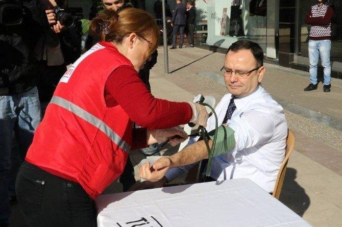 MTSO'dan Kan Bağışı Kampanyasına Destek