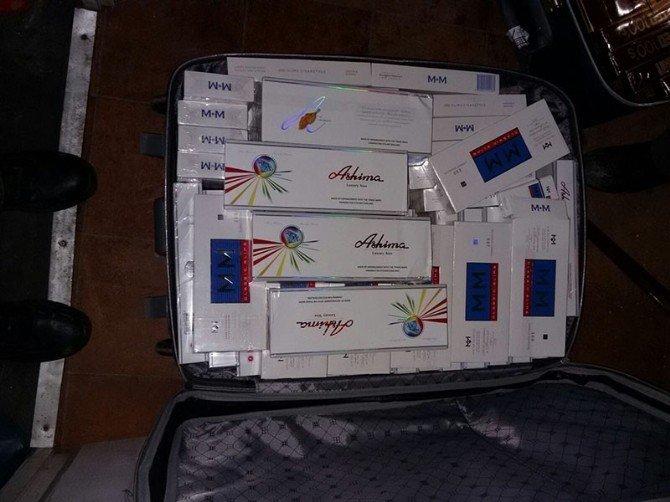 Muş'ta 12 Bin 230 Paket Kaçak Sigara Ele Geçirildi
