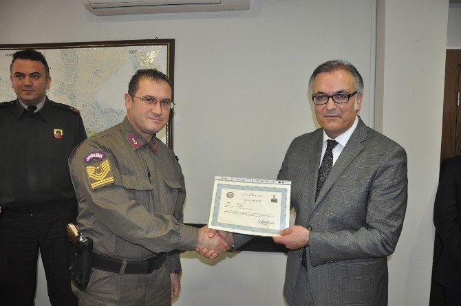 Başarılı Güvenlik Güçlerine Ödül