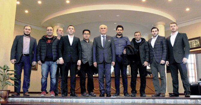 Başkan Yılmaz, Arap yatırımcılara Samsun'u anlattı