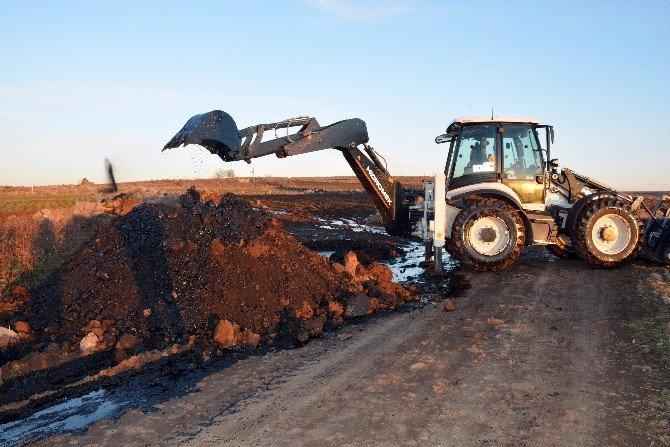 BOTAŞ Boru Hattı Patladı Tarlalar Ham Petrolle Doldu