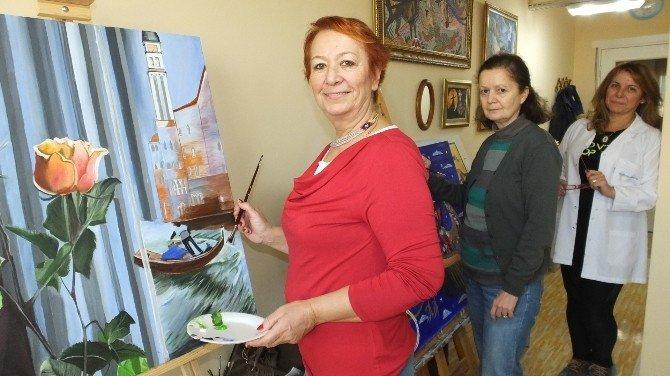 Burhaniyeli Ressamlar İstanbul'da Sergi Açacak