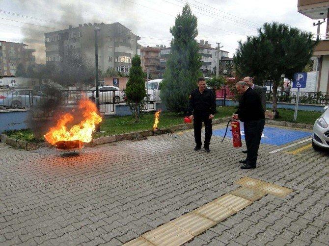 SGK Personeline Yangın Eğitimi