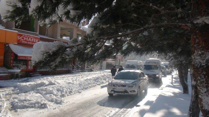 Bitlis'te kar yağışı yeniden başladı