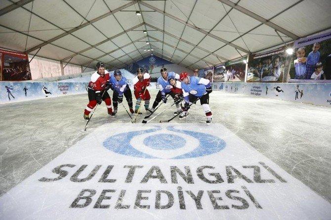 Sultangazi'de Buz Pateni Keyfi Başlıyor