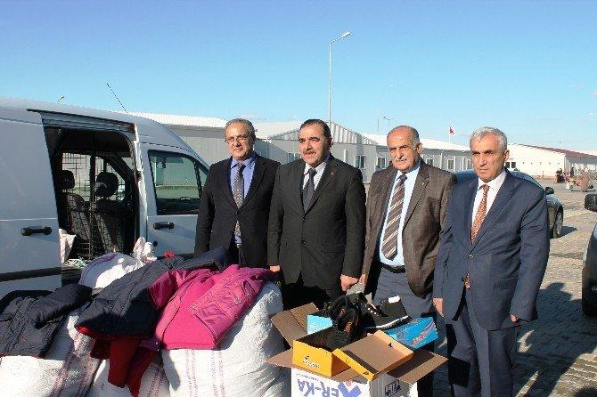 TSO'dan Suriyelilere Yardım