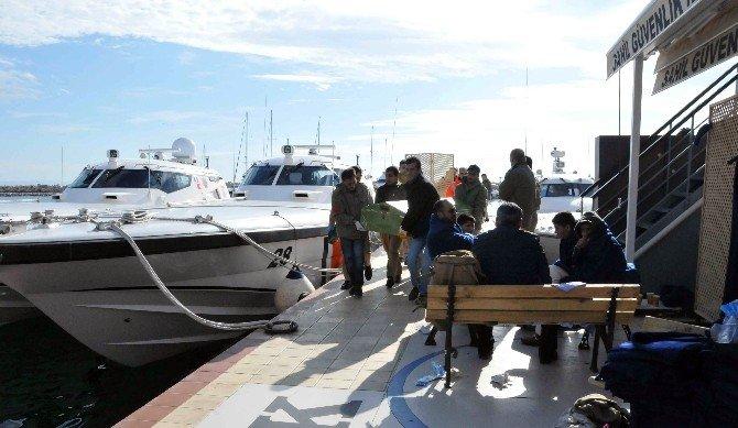 Ayvacık'ta Mülteci Botu Battı: 3'ü Çocuk 4 Ölü