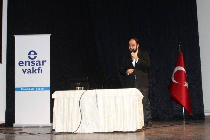 İlahiyatçı Yazar Ahmet Bulut Okurlarla Buluştu