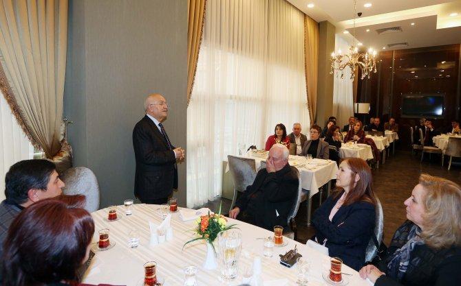 Yenimahalle muhtarları Başkan Yaşar'la buluştu