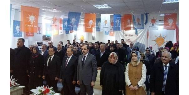 AK Parti Edremit Ocak Ayı Toplantısı
