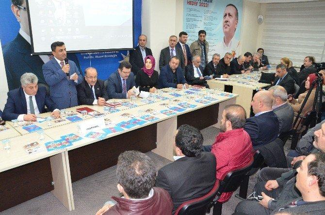 AK Parti Ortahisar İlçe Teşkilatı Ocak Ayı Danışma Meclisi Toplantısı
