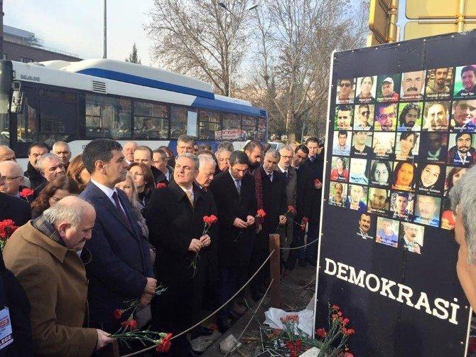 Ankara Saldırısında Hayatını Kaybedenler Anıldı