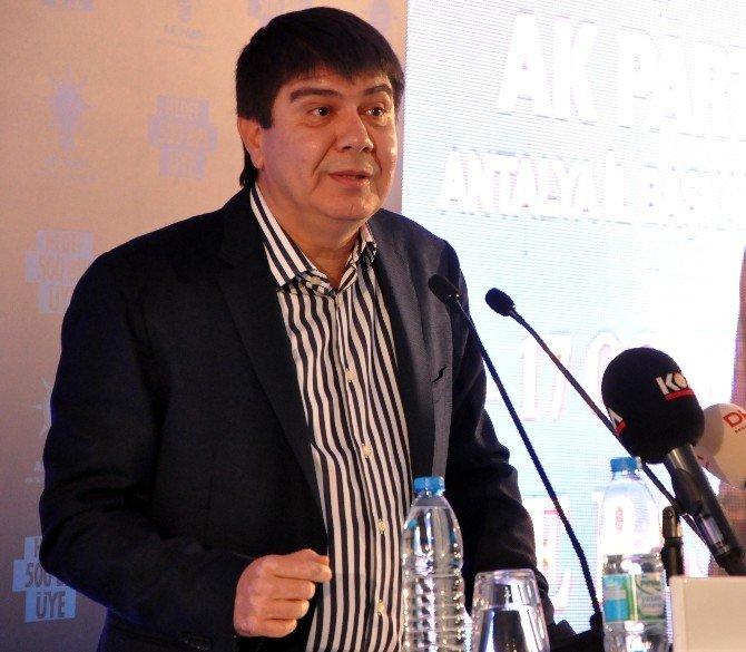 AK Parti Antalya Mahalle Başkanları Toplantısı