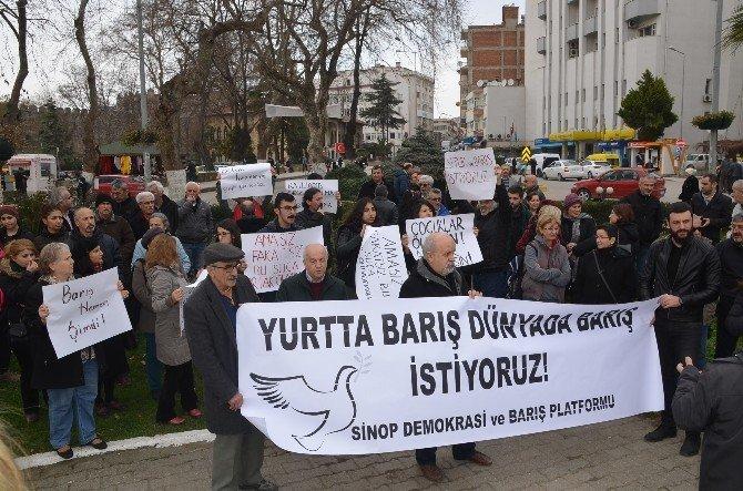 Sinop Demokrasi Ve Barış Platformu'ndan Basın Açıklaması