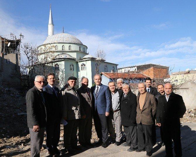Helvalıpınar Camii'ne Büyükşehir Eli