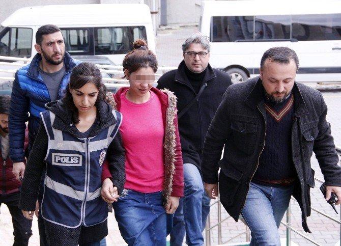 Zonguldak'taki Cinayet Zanlısı Genç Kız Tutuklandı