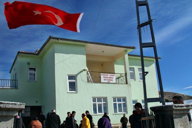 Kırşehir Kaman'da baba ocağına şehit ateşi düştü