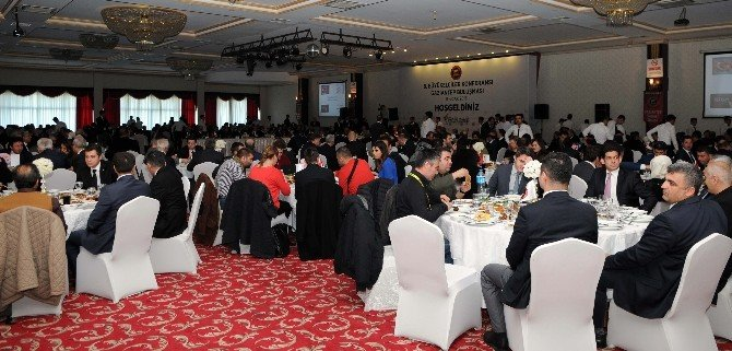 GSO, Büyükelçiler Heyetini Yemekte Ağırladı