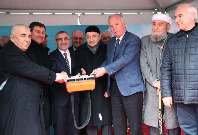 Huzurlu Marmara Projesinin Temeli Atıldı