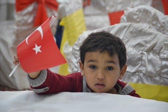 200 Suriyeli Yetim Aileye Nakdi Yardım Yapıldı